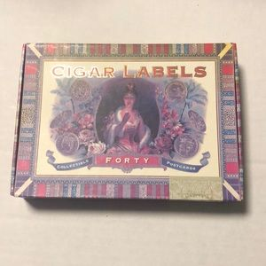 Cigar Labels 40 Collectible Post Cards